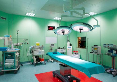 La Sala Operatoria, Anestesia E Intervento Chirurgico